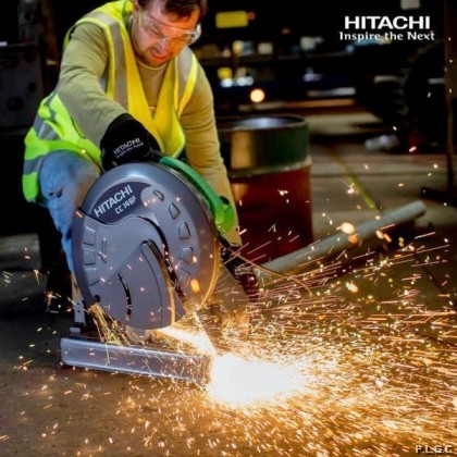 Hikoki Corded CC14ST 355MM  High Speed Cutter ( Use for Steel / Timber )